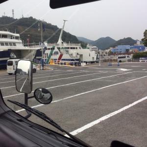 トラック代行で 小豆島へ