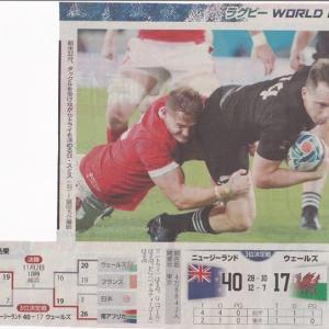 「ラクビーW杯日本大会」3位決定戦は・・・・・