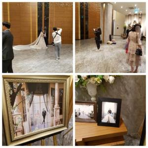 会社の子の、結婚式に行ってきました。韓国での結婚式の様子です