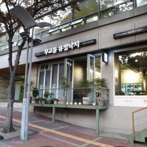 【市庁駅】 武橋洞(ムキョドン)ユジョンナクチ 本店「무교동유정낙지」 タコがまるまる張り付いたジョン食べてきました。