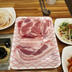 【龍仁】 やっぱり肉屋がやってるお店は、味が違います 家の近くで豚さん食べてきました