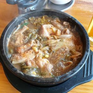 【龍仁】 元祖ヤンピョンヘジャンク「원조양평해장국」  コプチャンの入ったちょっとディープ目なヘジャンク食べてきました