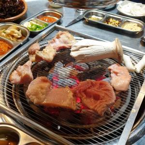 【龍仁】 スッグソ「숯구소」 僕が韓国で一番美味しい牛マクチャンと思っている店に行ってきました