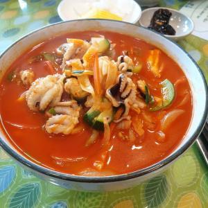 【韓国生活】 北京「베이징」 韓国昼ご飯の定番 会社引っ越し前 昼休みにチャンポン食べてきました