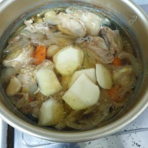 【韓国家ごもり】 タッカンマリ? タッカルグクス? 今回すごく頑張って料理してみました