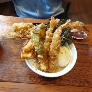 【水原】 くじら「쿠지라」 韓国の天丼も美味しくなりましたね ^^
