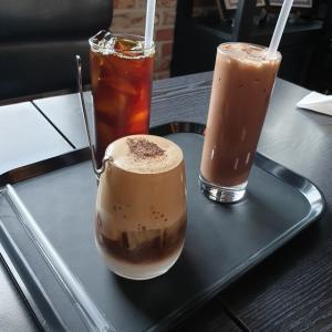 【おやじ韓国地方旅 聞慶】 K BROS COFFEE 「케이브로스커피」 最後には僕のお勧めのカフェで反省会^^