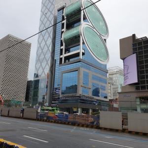 【時事ネタ】 ソウルの町の様子 江南、新論峴編 とうとう江南でも