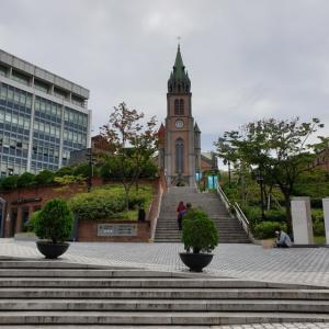 【時事ネタ】 ソウルの今の町の様子 明洞の今の様子 明洞聖堂辺り
