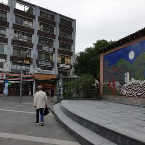 【時事ネタ】 ソウルの今の町の様子 仁寺洞メイン通り辺り