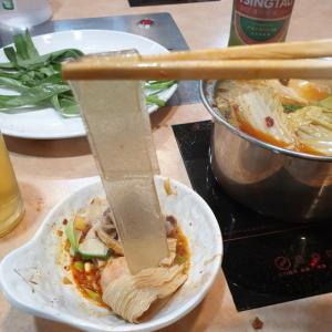 【龍仁】 千里香「천리향」 最近ここよく来てます。 やっぱり火鍋美味しいです^^ 今回は刀削麺狙いです ^^