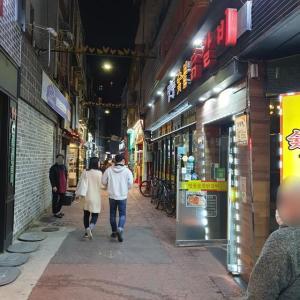 【おやじ韓国地方旅 春川】 春川と行ったらタッカルビ 明洞のタッカルビ通りに潜入します