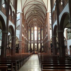 【ドラマロケ地】 ミリネ聖堂「미리내성당」 トッケビで使われた とっても素敵な聖堂に行ってきました