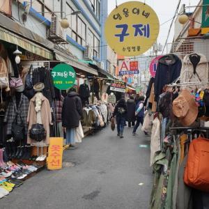 【おやじ韓国地方旅 釜山】 国際市場「국제시장」 国際市場とBIFF通りをぐるっと見てきました