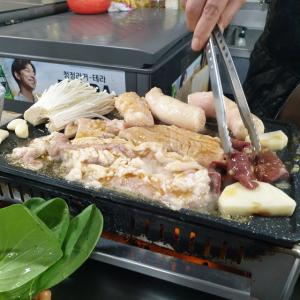 【おやじ韓国地方旅 釜山】 西面 ムンファヤンコプチャン 「문화양곱창」 釜山と言えばコプチャンでしょう ^^ セリ食べ損ねましたけど
