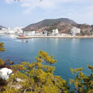 【おやじ韓国地方旅 釜山】 たまにはのんびり ^^ 巨済島の海をゆっくり見てみます