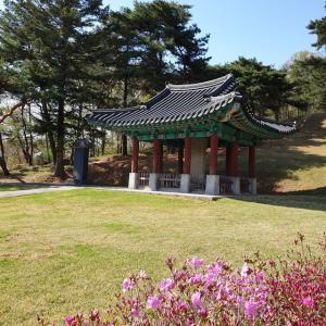 【おやじ韓国地方旅 温陽】 李忠武公墓「이충무공묘」 李舜臣将軍のお墓見つけましたが・・・・・・ マジで・・・