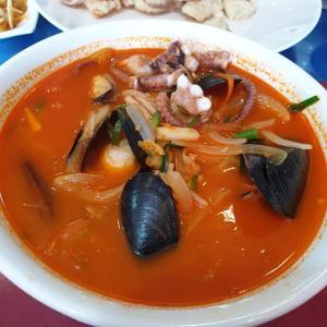【龍仁】 シンチャイ「씽차이」 韓国中華 昼ご飯のド定番 チャンポン食べてきました