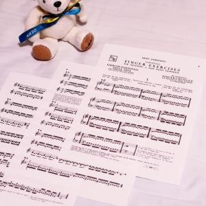 「ドホナーニ: 指の練習」(無料楽譜あり)で指の独立の訓練|大人の独学ピアノ戦記