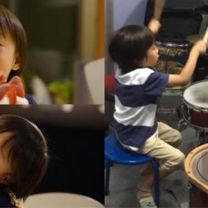 レッスン5歳の誕生日にドラムをはじめたシリーズ