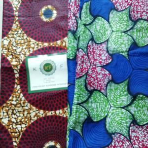 アフリカンコットン&毛糸