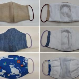 ハンドメイド布マスク(手作りマスク)