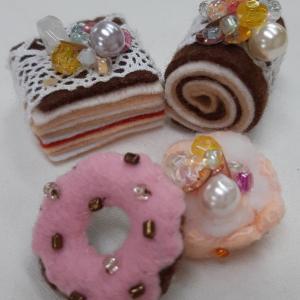 ミニチュアマスコット~【ケーキ・ドーナツ】