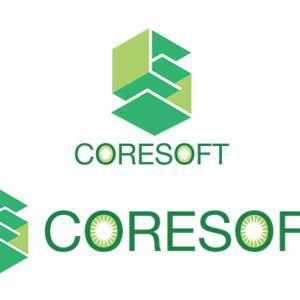 ●システム開発会社【株式会社CORESOFT】様のロゴ