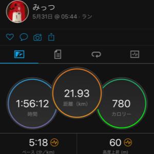【速報】 週末ひとりTATTAマラソン