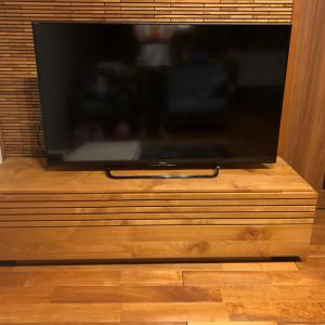 テレビが壊れました><