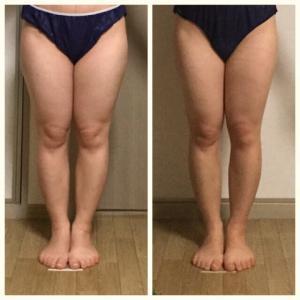 太もも痩せ期間3ヶ月 毎回効果を実感しました!