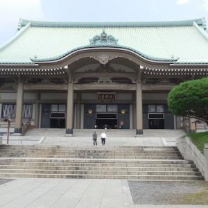 空いた時間に行ってみた。念願の總持寺へ。
