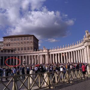 ローマにある小さな国、バチカンへ行く