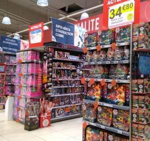 スーパーのクリスマス商戦始まる