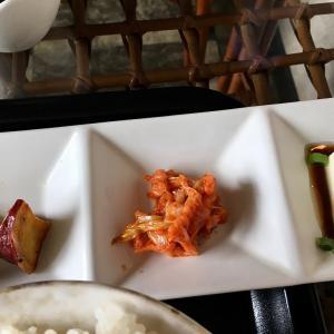 cafe pabアイセル「メンチカツ定食」 (茨城 水戸)