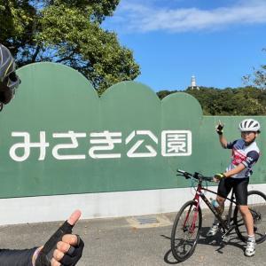 ビワイチ諦め、岬公園までサイクリング。