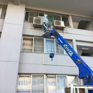 千葉市でエアコン処分|特殊設置エアコン取り外し