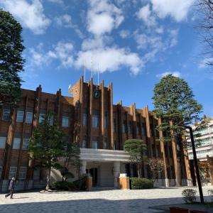 拓殖大学へ!