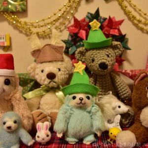 クリスマス2019_前編【即席サンタ帽子の作り方つき】