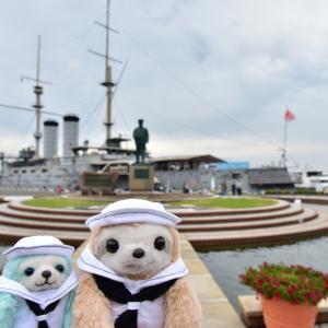 横須賀の戦艦三笠とぬい撮りブログ継続