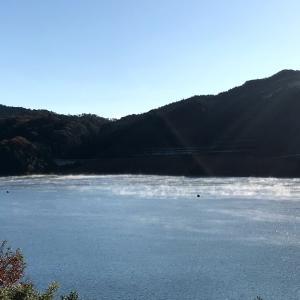 嘉瀬川ダム蒸気霧