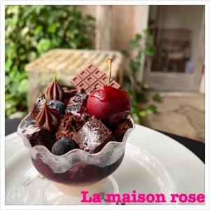 《夏フルーツのチョコレートパフェ》新商品