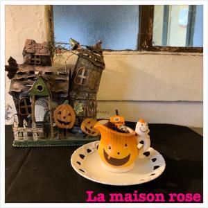 《かぼちゃのババロアカップ》