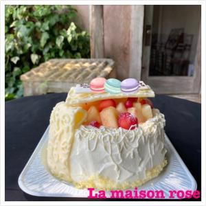 オーダーバースデーケーキです