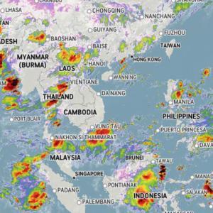 これから雨季が本格化しそうな予感・・・。