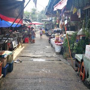 【バンコク近郊日帰り旅】昔ながらの市場は美味しいものいっぱい「ノンタブリー市場(Nonthaburi Market)」
