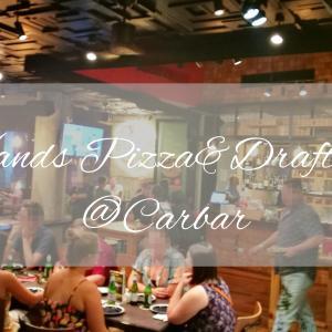 【バンコク・イベント】トンロー「Carbar」のピザ食べ放題イベント「6-Hands Pizza & Draft Beer」