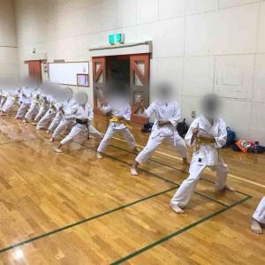 空手子供コースやってます 札幌厚別 南区澄川