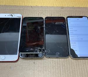 iPhone Repair ガラス割れ20210415