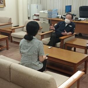 社長へ突撃インタビュー!!